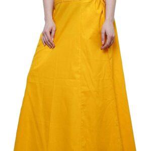 Halka pod sari zolta  bawelna A063