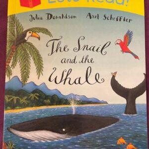 """""""The Snail and the Whale""""  książka dla dzieci  A141"""