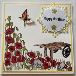 Kartka urodzinowa  A010
