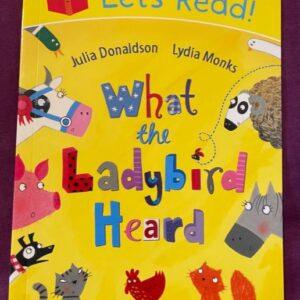 """""""What the Ladybird Heard"""" książka dla dzieci  A136"""