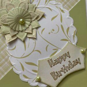 Kartka urodzinowa  A011