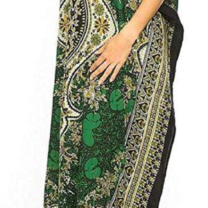 Abaya sukienka  z zielenia, wzory M/L (A065)