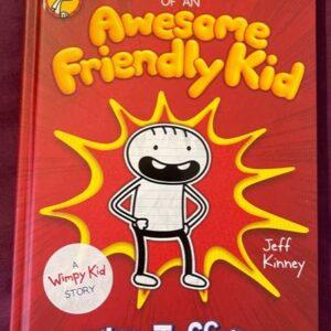 """""""Diary of an Awesome Friendly Kid""""   dla dzieci  A143"""