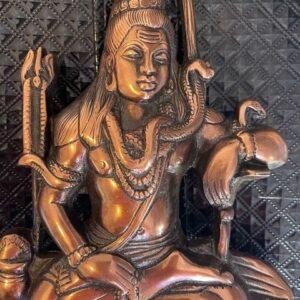 Lord Shiva  figurka metalowa A059