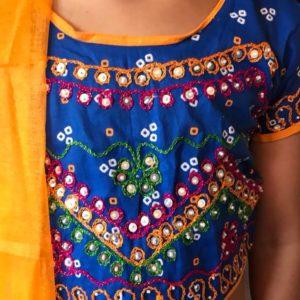 Chanja choli dla dziewczynki 6-7 lat (293)