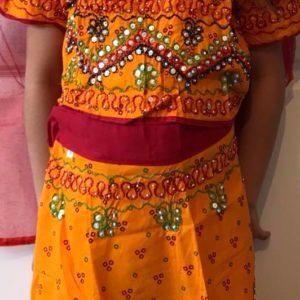 Chanja choli dla dziewczynki 6-8 lat (292)