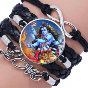 Bransoletka z wizerunkiem Shiva (521)