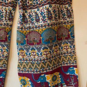 Spodnie kolorowe bawelna 241