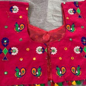 Choli kolorowe, lusterka, bawelna (172)
