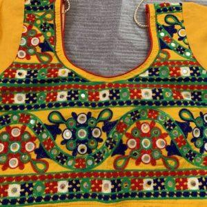 Choli kolorowe, lusterka, bawelna. (170)