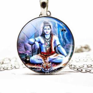 Shiva zawieszka+lancuszek 519