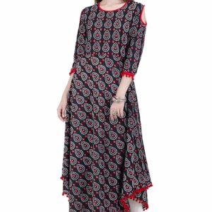 Sukienka bawelna pompony L/XL (214)