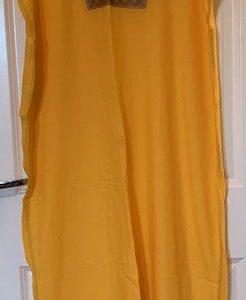 Tunika abaya zolta dluga M/L (337)