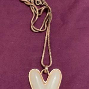 Naszyjnik z lancuszkiem – serce 672