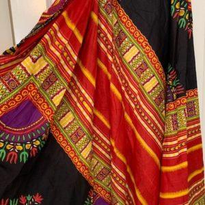 Spodnica zakladana, bawelna kolorowa (188)