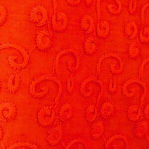 Spodnie bawelna pomaranczowe S/M 237