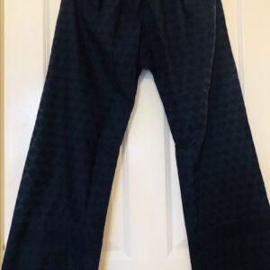 Spodnie bawelna granatowe S/M (233)