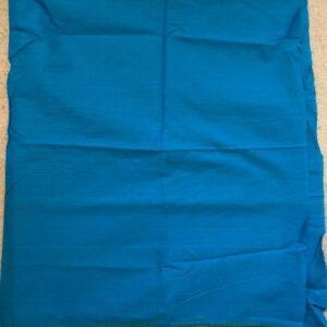 Material na choli niebieski z borderem (165)