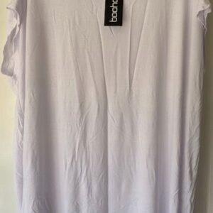 Bluzka biala Boohoo L (302)