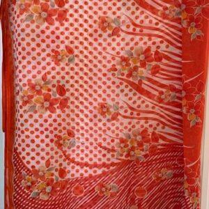 Sari kolorowe kwiaty, wzory 094