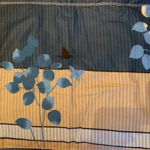 Poszewka bawelna liscie  43 x 68 cm