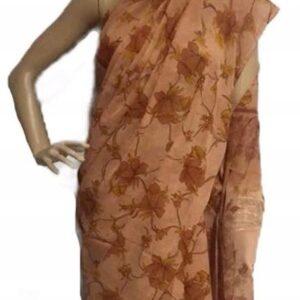 Sari kolorowe, wzor kwiaty 076