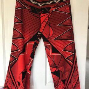 Spodnie proste modne wzory M (238)