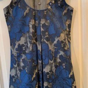 Sukienka kwiaty dziewczynka 8-10 L (403)