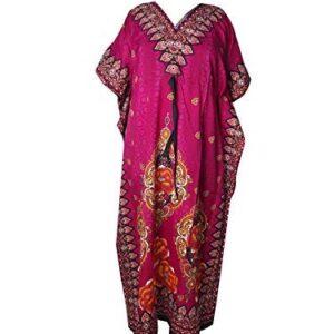 Sukienka rozowo kolorowa roz uniwersalny T176