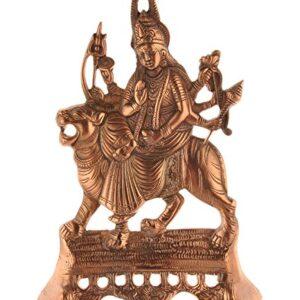 Durga Devi  figurka metalowa T48