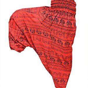 Spodnie alladynki słonie, wzory  S032