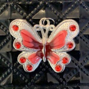 Motyl zawieszka wisiorek