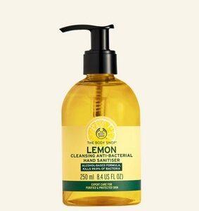 Lemon Cleansing Anti-Bacterial Hand Sanitiser 250 ml S064