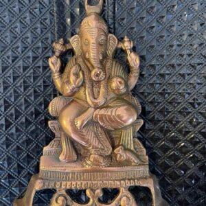 Ganesh figurka metalowa   (A118)